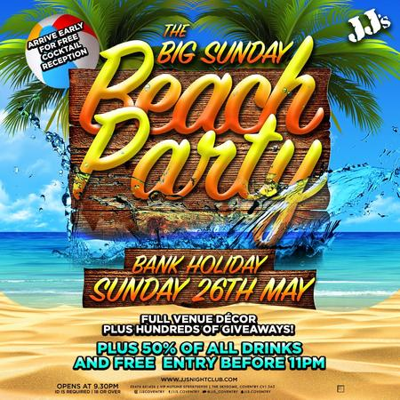 The Big Sunday Beach Party