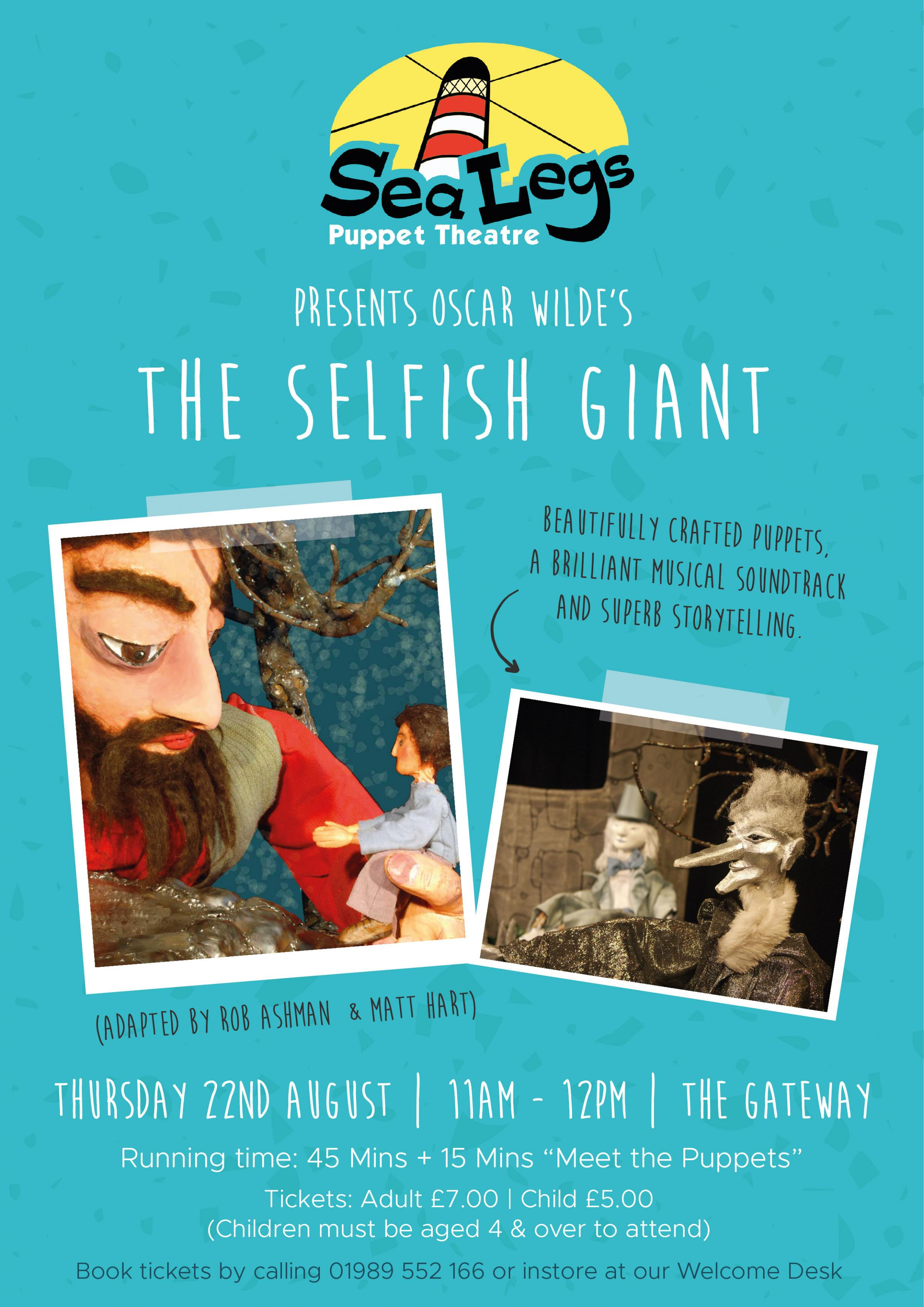 Sea Legs Puppet Theatre present The Selfish Giant