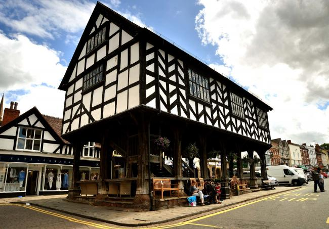 The market house in Ledbury, named as one of the best towns to live in
