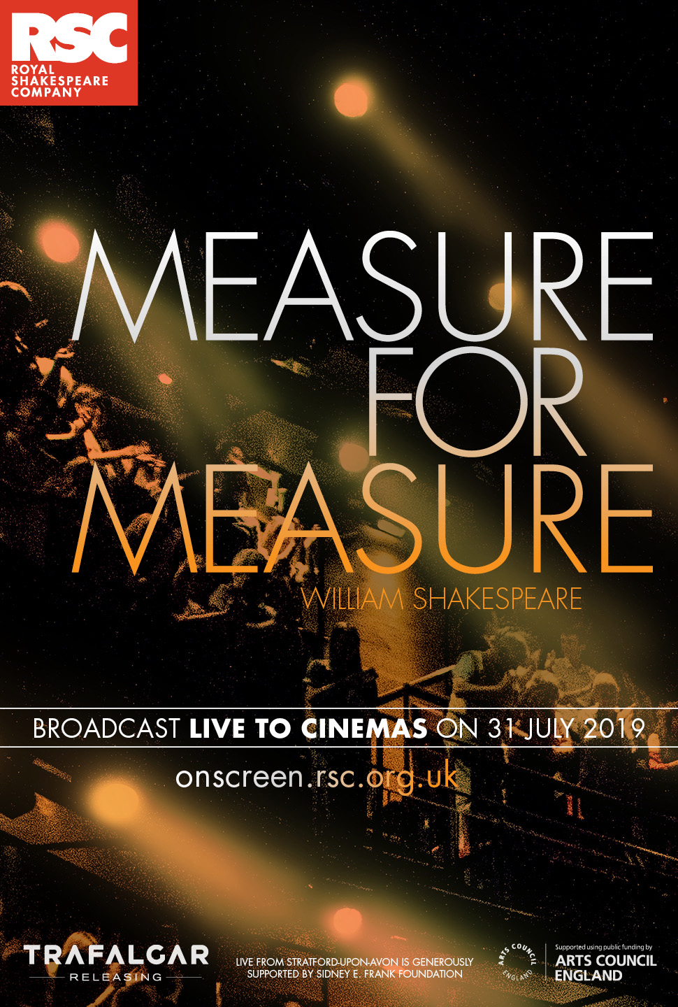 RSC: Measure for Measure, Live from the RST Stratford upon Avon