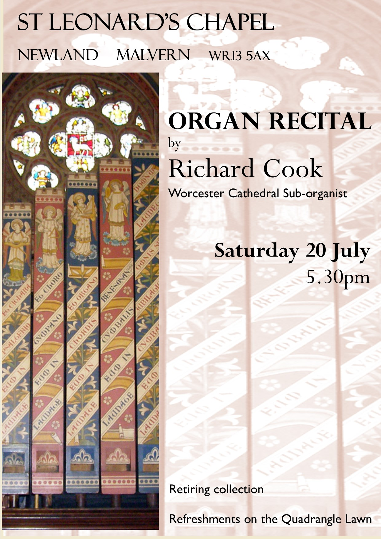 Organ Recital by Richard Cook