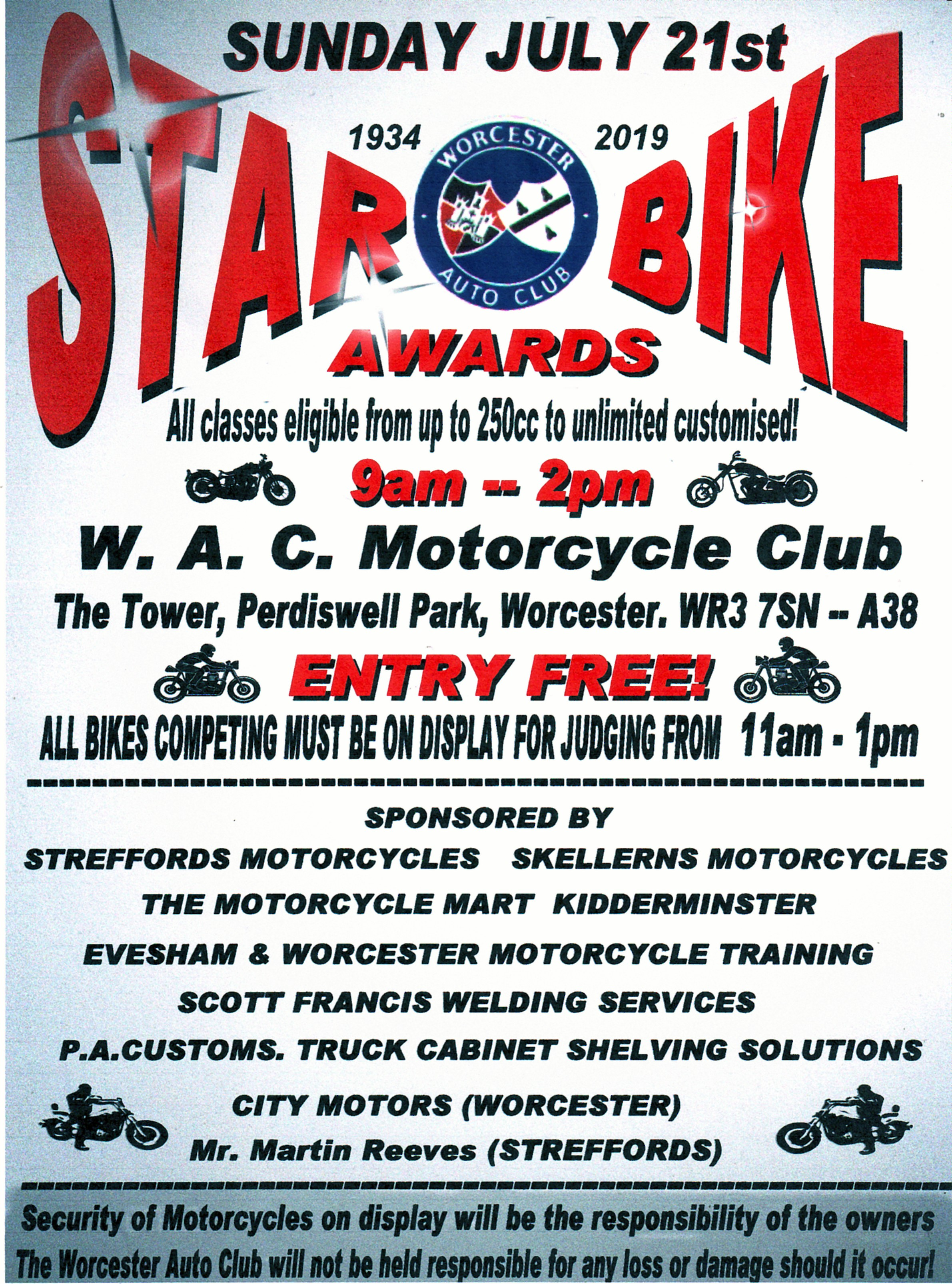 Star Bike Awards